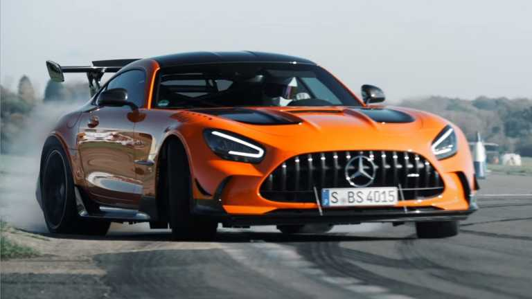 Το ατελείωτο ντριφτ της Mercedes-AMG GT Black Series [vid]