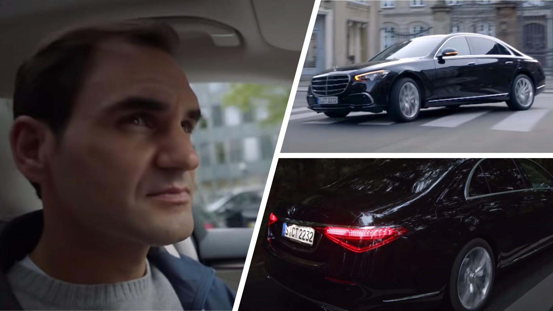 Ο Roger Federer οδηγεί τη νέα Mercedes-Benz S-Class [vid]