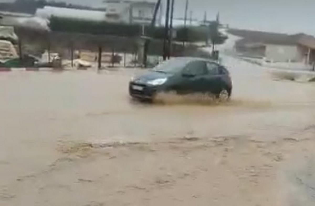 Ποτάμια οι δρόμοι στο Δήμο Βισαλτίας Σερρών (video)