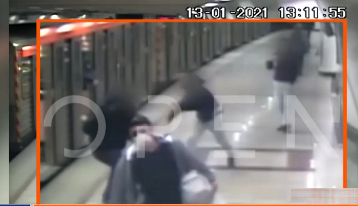 Ολόκληρο το βίντεο ντοκουμέντο της άγριας επίθεσης στον σταθμάρχη από τους ανήλικους