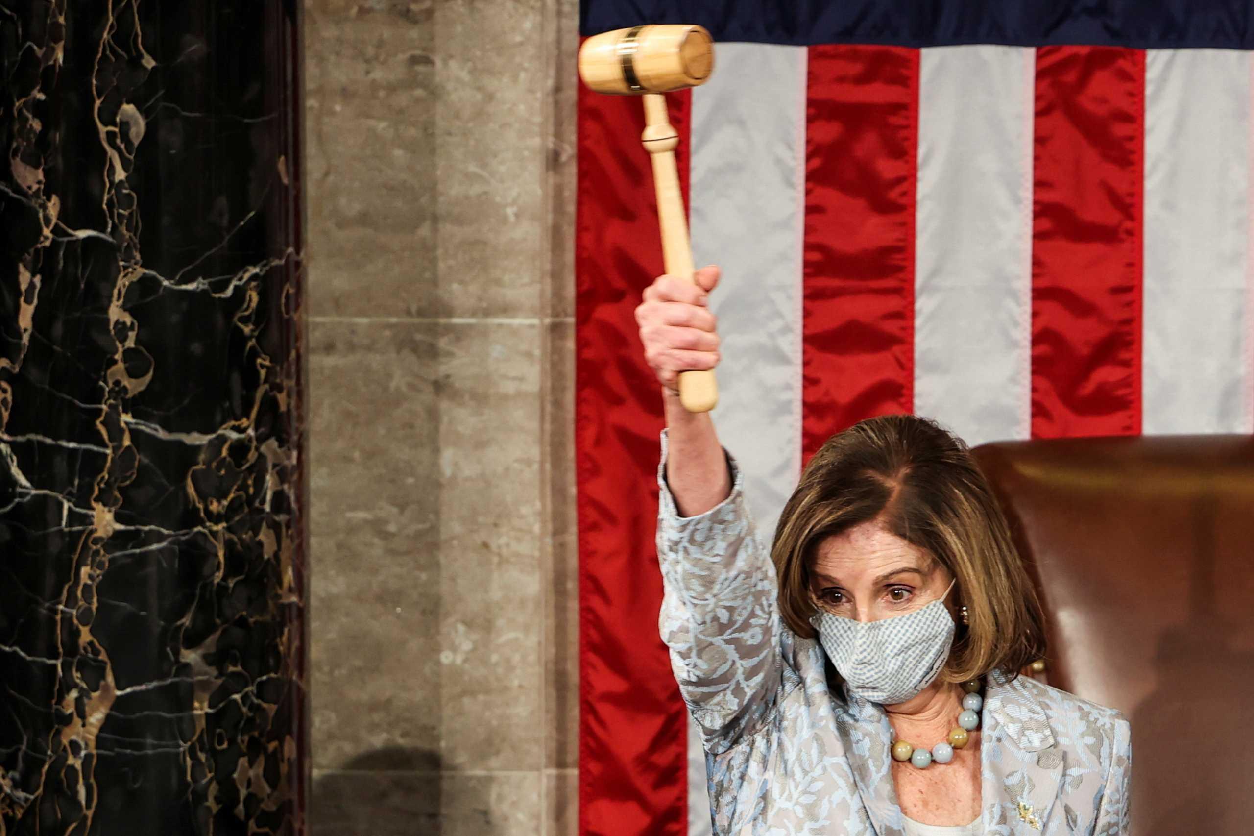 ΗΠΑ – Νάνσι Πελόζι: Για 4η φορά πρόεδρος της Βουλής των Αντιπροσώπων