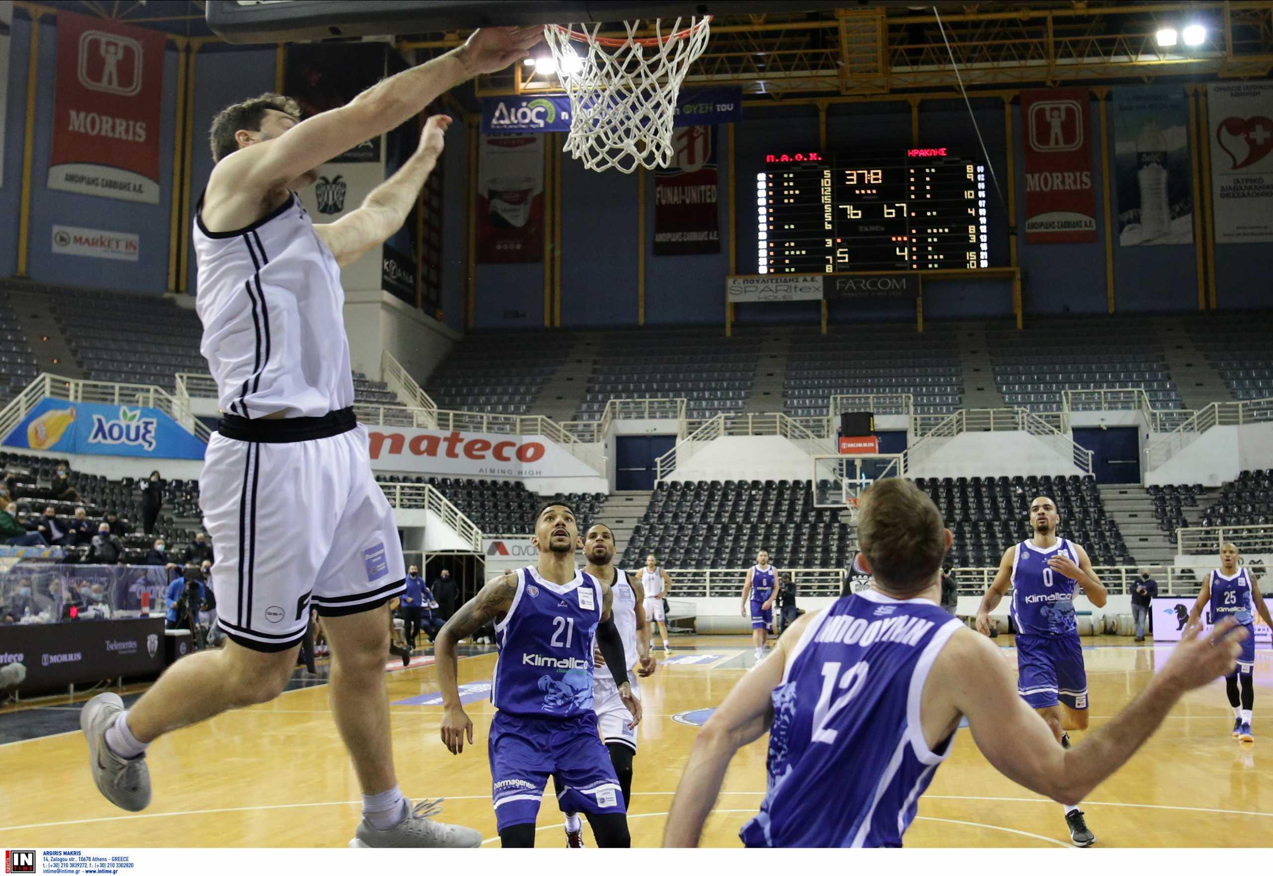 Basket League: Ο ΠΑΟΚ «σκότωσε» τον Ηρακλή κι ο Προμηθέας «σταμάτησε» το Λαύριο