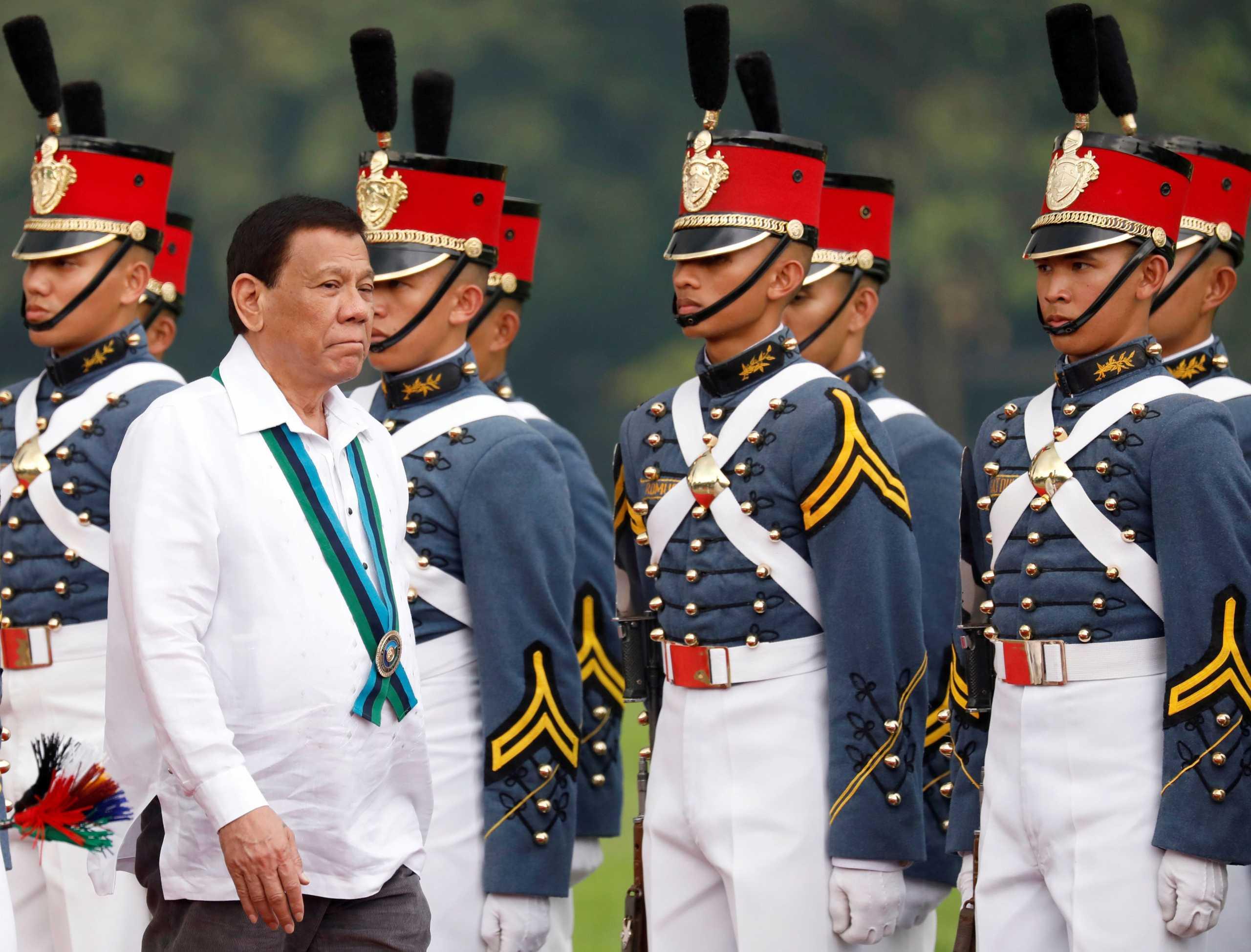 Φιλιππίνες: Σεξιστικό κρεσέντο Ντουτέρτε – «Δεν είναι αυτή δουλειά για μια γυναίκα»