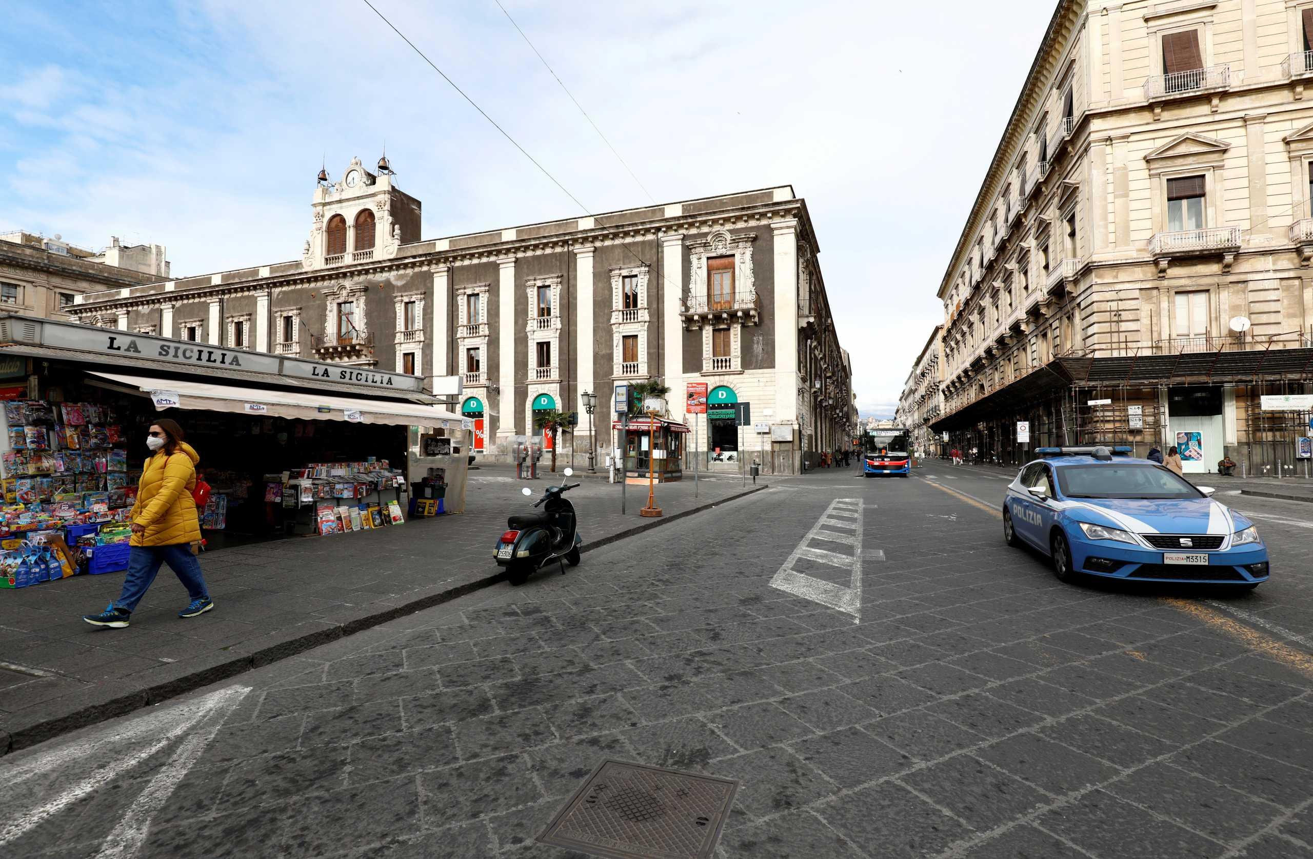 Ιταλία: 477 νεκροί και πάνω από 13.500 κρούσματα κορονοϊού