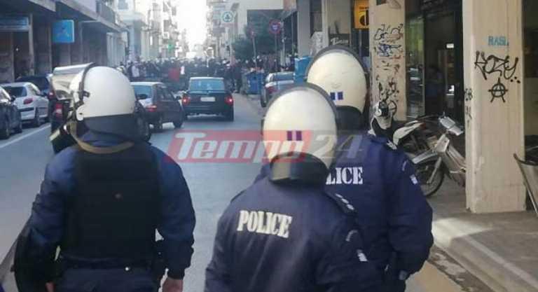 Πάτρα: Επεισόδια και συλλήψεις στην συγκέντρωση για Κουφοντίνα (pics, video)