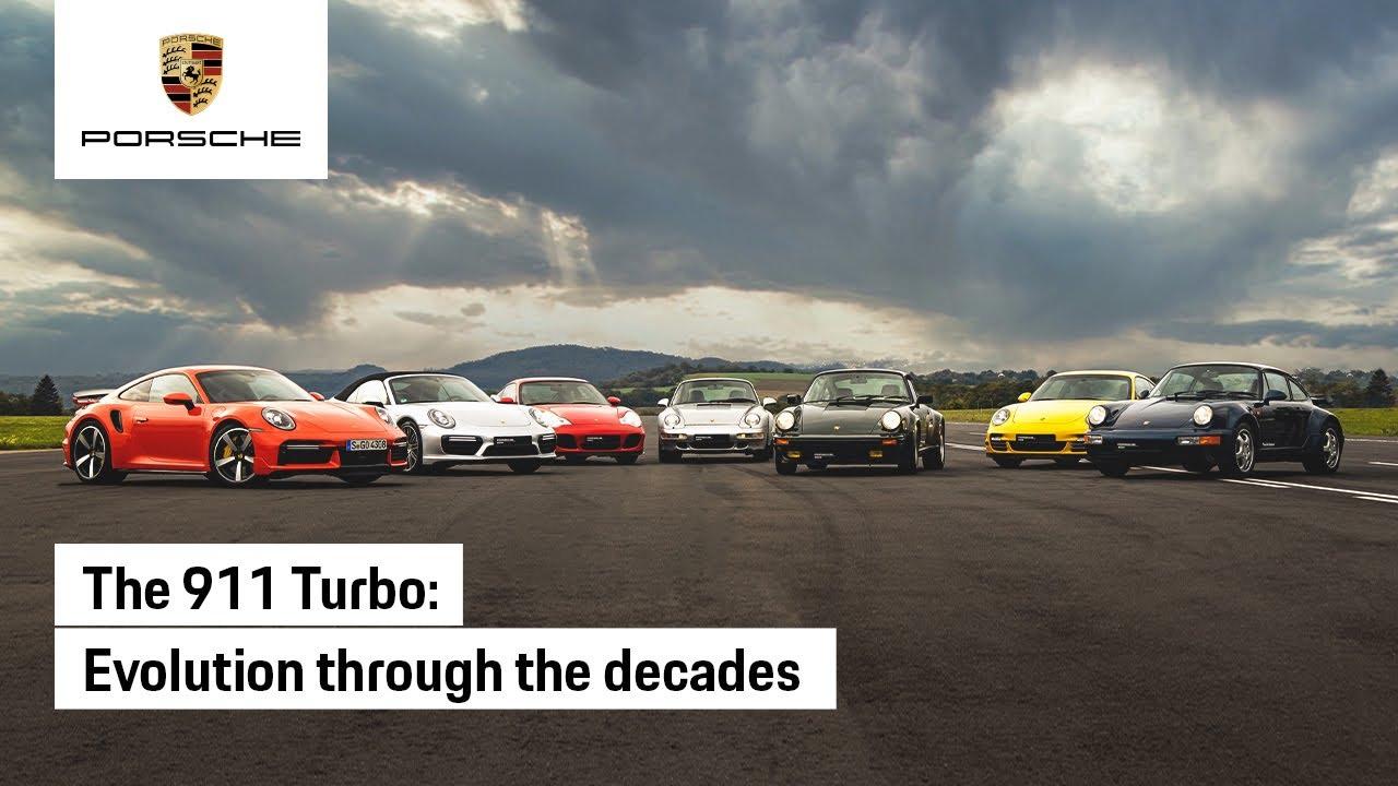 Μια κόντρα μεταξύ όλων των γενιών της Porsche 911 Turbo [vid]