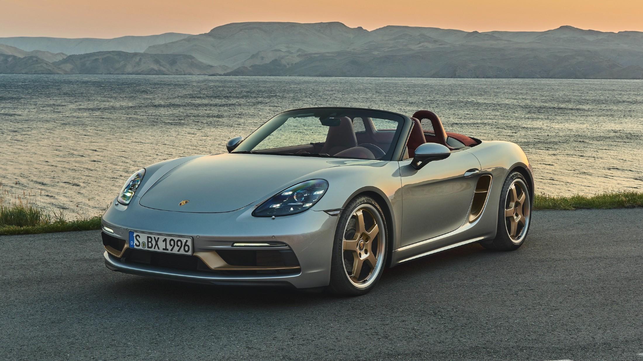 Επετειακή Porsche Boxster για τα 25 χρόνια  του μοντέλου [vid]