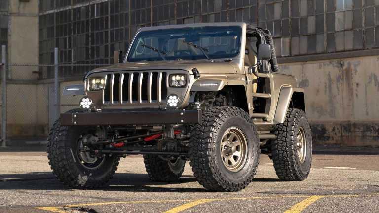 Πώς να κάνεις ένα καινούργιο Jeep Wrangler να μοιάζει με παλιό