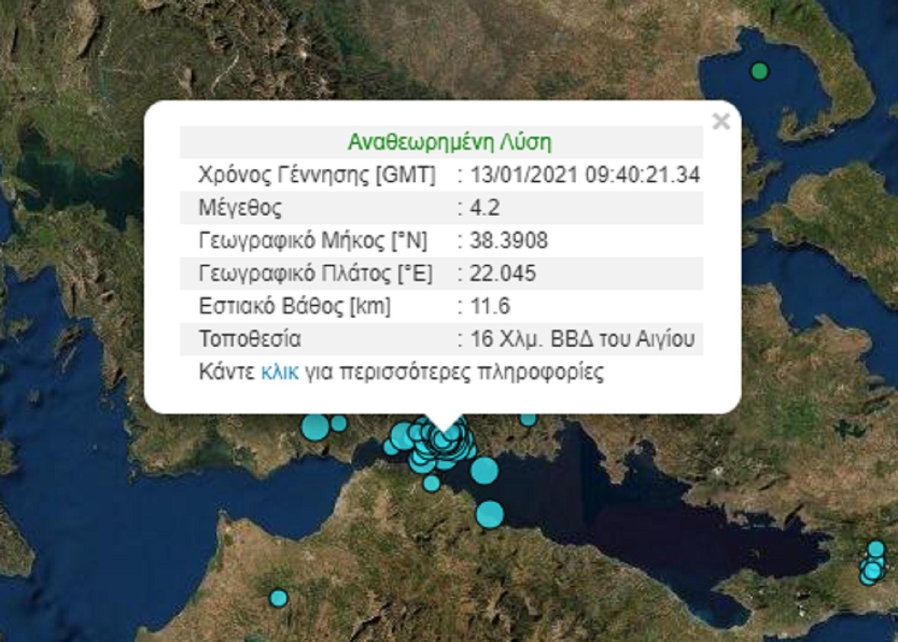 Σεισμός 4,2 Ρίχτερ ταρακούνησε Ναύπακτο και Αίγιο – Η γη συνεχίζει να σείεται (video)