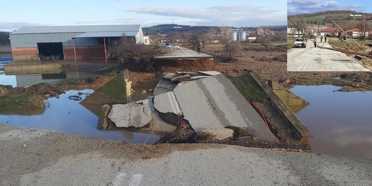 Πνίγηκε ο Έβρος – Μετρούν τις πληγές τους οι κάτοικοι ενώ άρχισε καταγραφή ζημιών