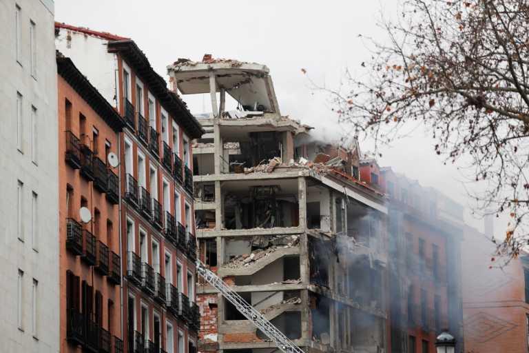 Ισπανία: Έκρηξη στο κέντρο της Μαδρίτης – Σκηνές χάους