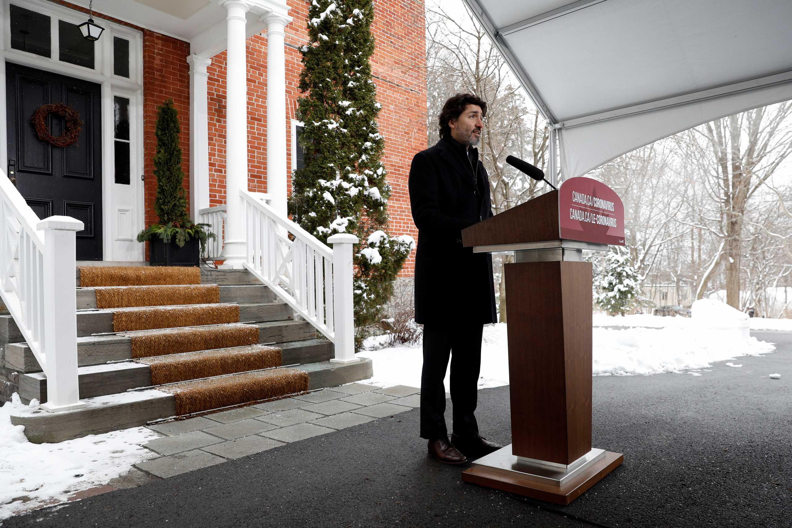 Πρωθυπουργός Καναδά: Το 2021 μπορεί να είναι χρονιά εκλογών