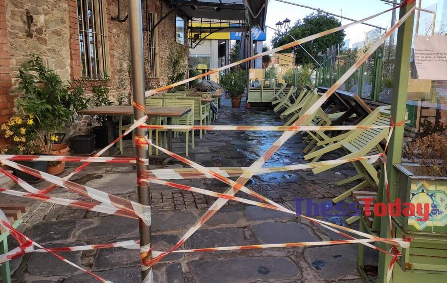 Lockdown: Εικόνες θλίψης και εγκατάλειψης στην άλλοτε πολύβουη αγορά της Θεσσαλονίκης (pics)