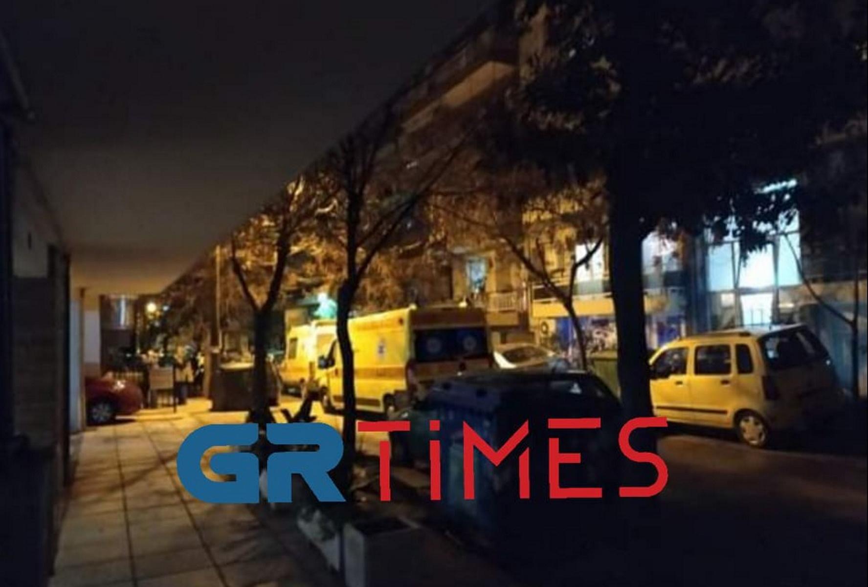 Θεσσαλονίκη: Βουτιά στο κενό για 55χρονη γυναίκα (pics, video)