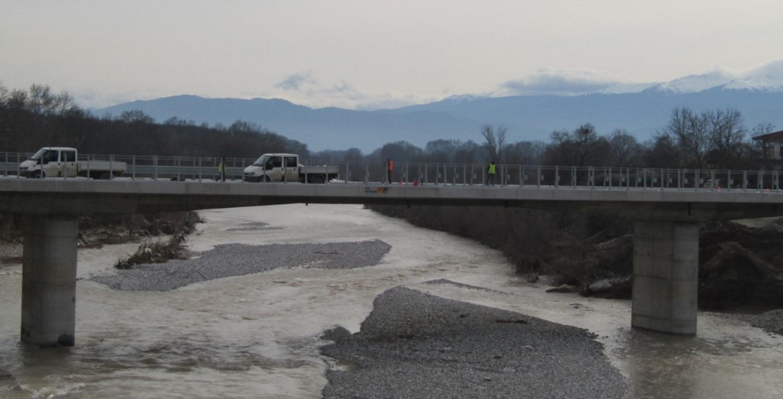 Τρίκαλα: Έτοιμη η νέα γέφυρα Διαλεκτού –  Αύριο στην κυκλοφορία (pics, video)