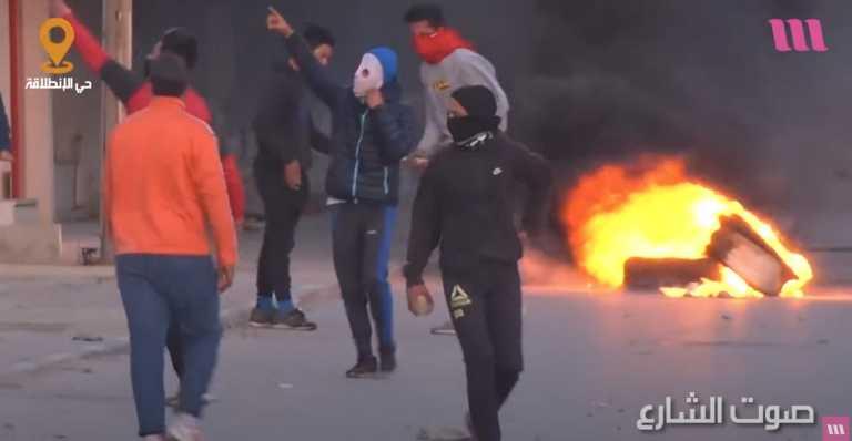 Ξεσηκώθηκαν οι φτωχοί στην Τυνησία: 600 συλλήψεις από τον Στρατό (video)