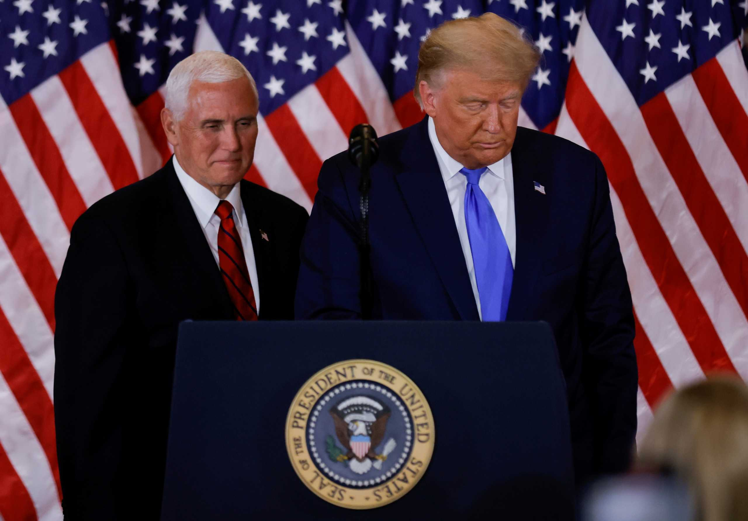 Δημοκρατικοί σε Πενς: Απομάκρυνε τον Τραμπ – Ο Πρόεδρος των ΗΠΑ είναι ανίκανος