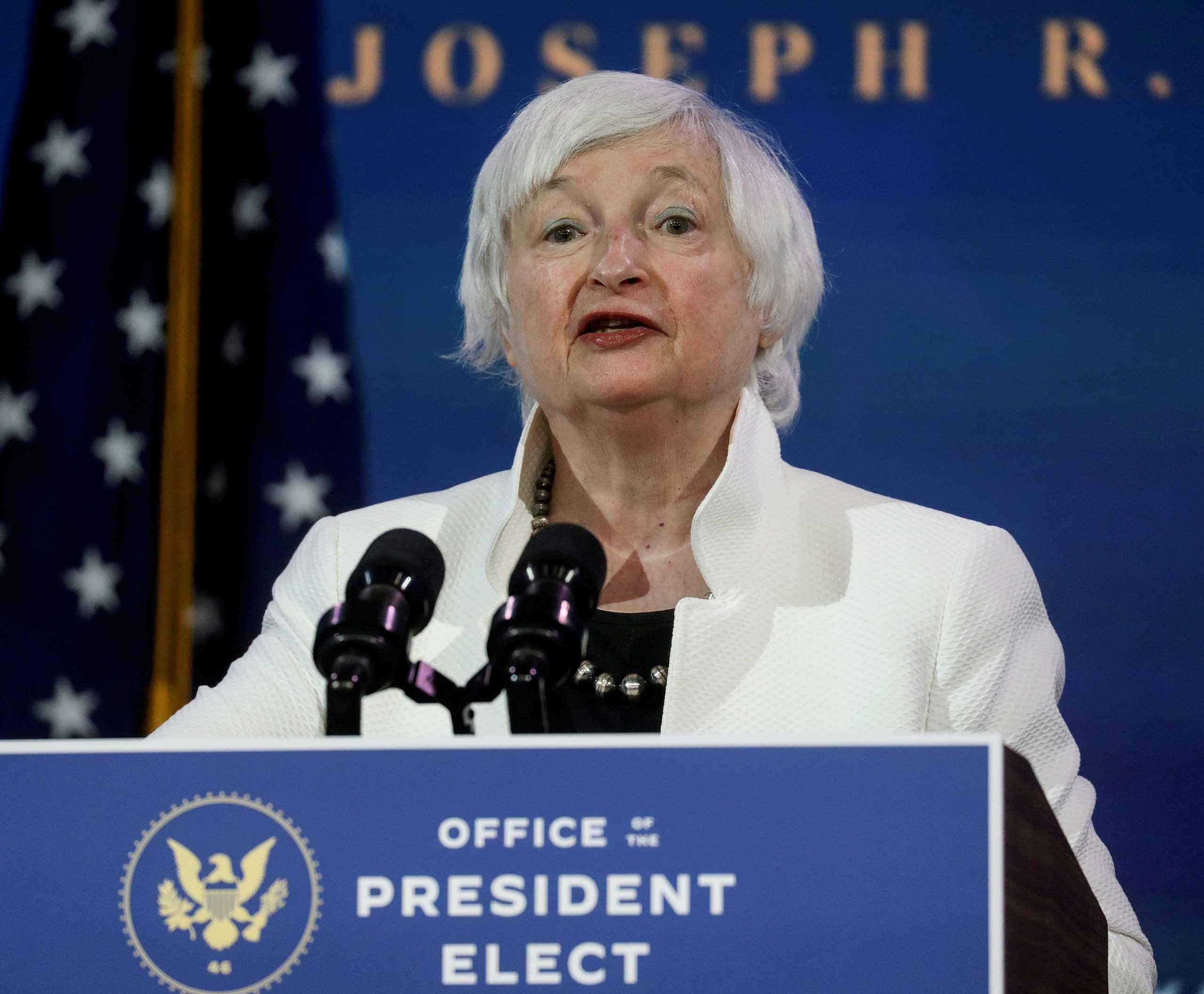 Τζάνετ Γέλεν: Η πρώτη γυναίκα υπουργός Οικονομικών των ΗΠΑ
