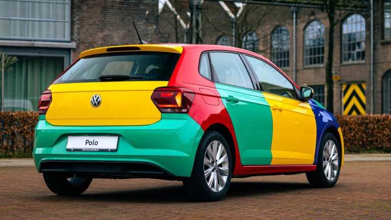 Η επιστροφή του Volkswagen Polo Harlekin