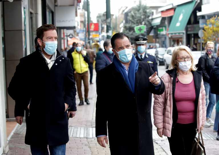 Άδωνις Γεωργιάδης: Αν φοράμε όλοι τις μάσκες μας και προσέχουμε είμαι αισιόδοξος