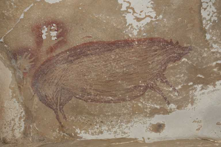 Βρέθηκε σπηλαιογραφία, ηλικίας 45.500 ετών! Η αρχαιότερη που έχει ανακαλυφθεί (pic)