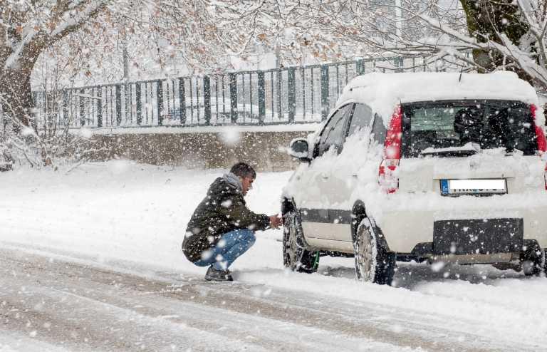 Καιρός – Προσοχή: Ποιοι δρόμοι είναι κλειστοί στην Αττική – Που χιονίζει τώρα