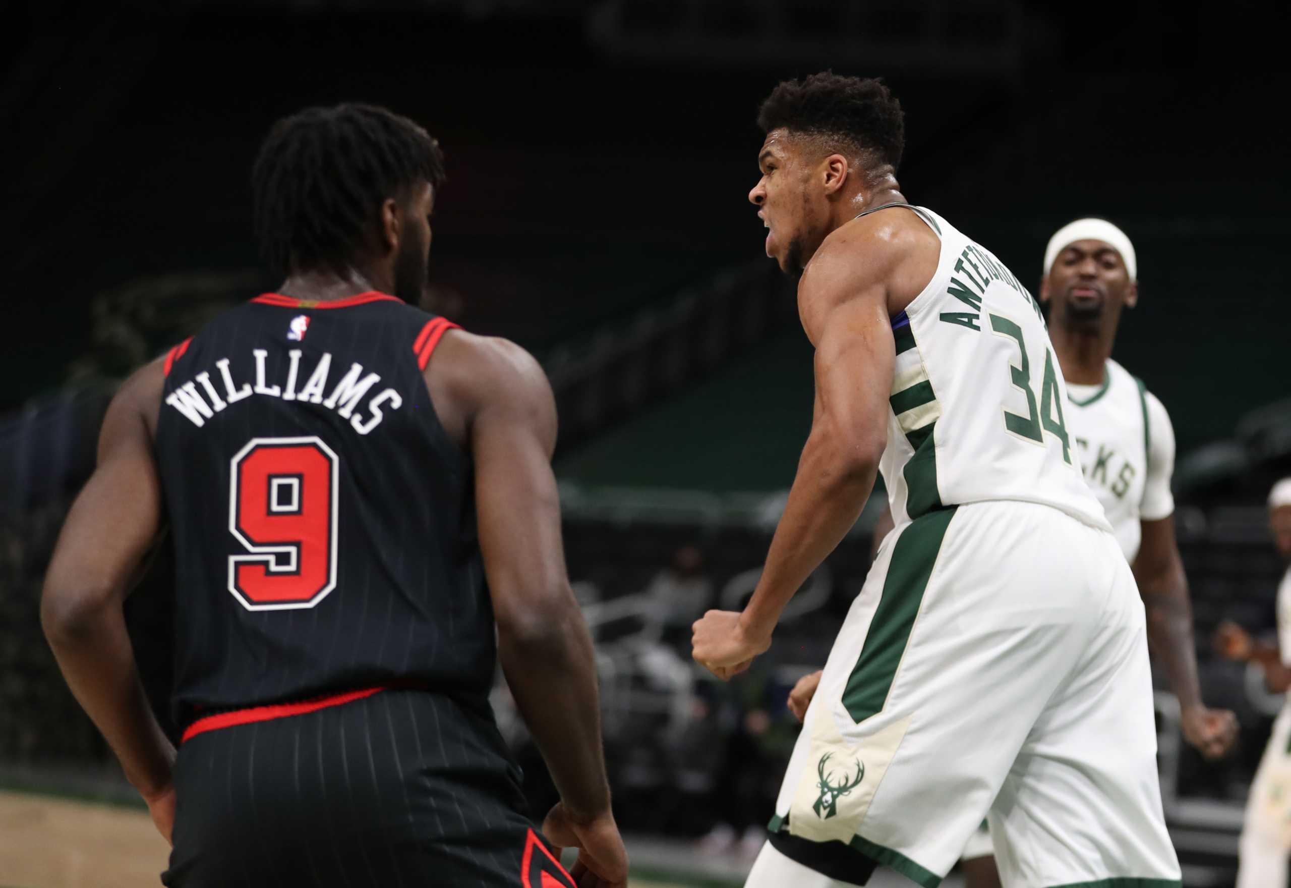 NBA: Το σόου του Αντετοκούνμπο κόντρα στους Μπουλς (video)