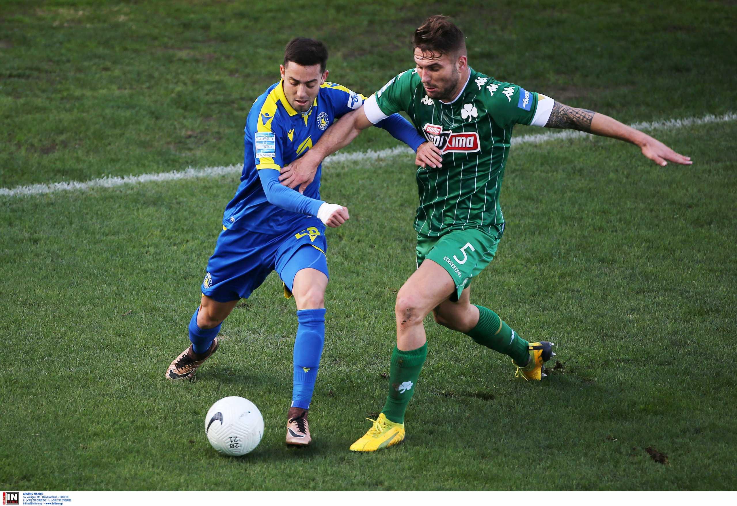 Παναθηναϊκός – Αστέρας Τρίπολης 0-0 ΤΕΛΙΚΟ!