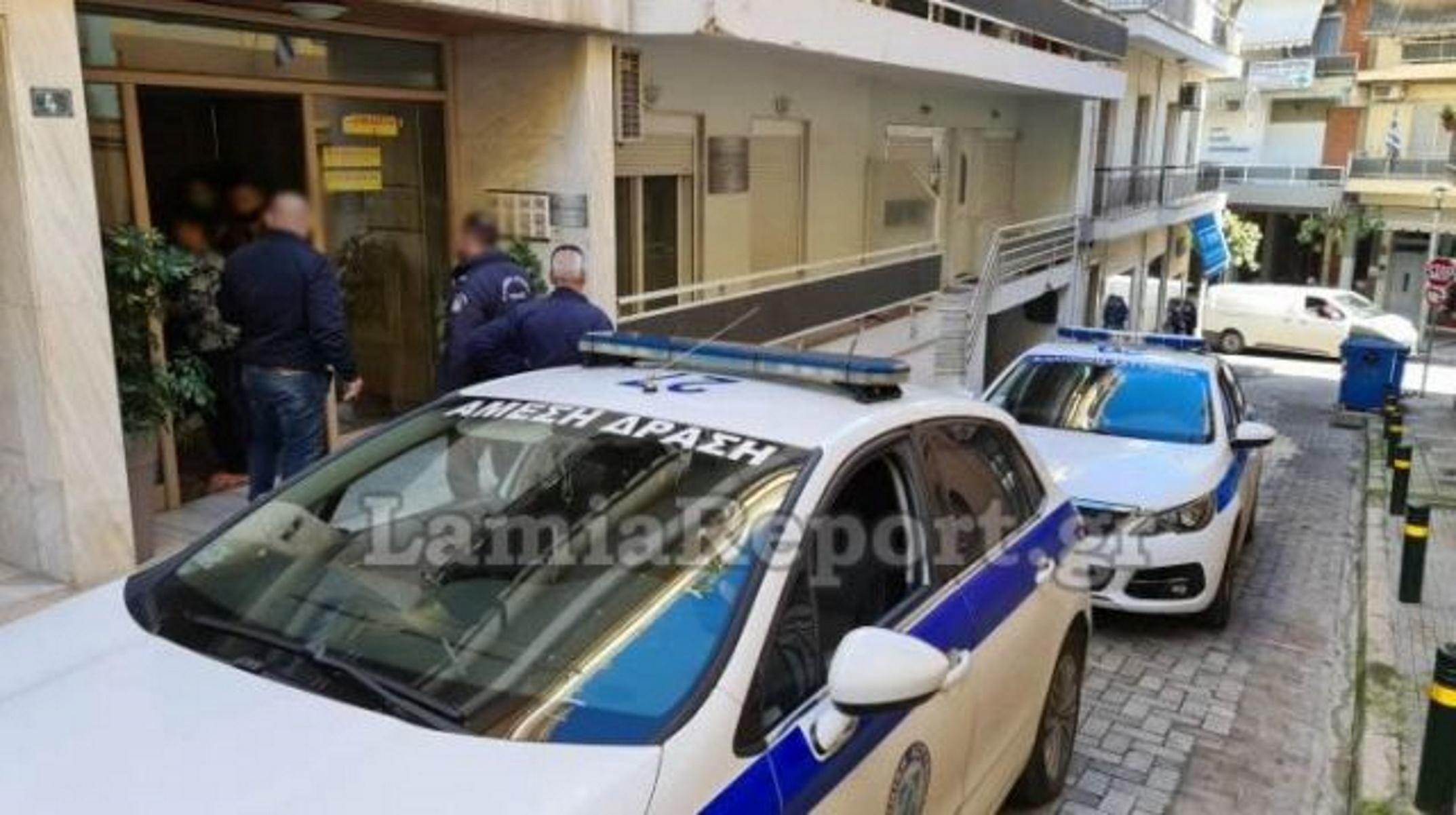 Λαμία: Είδε τους κλέφτες από το ματάκι της πόρτας (pics, video)