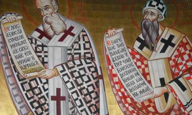 Σήμερα γιορτάζει ο Άγιος Αθανάσιος ο Μέγας και ο Κύριλλος