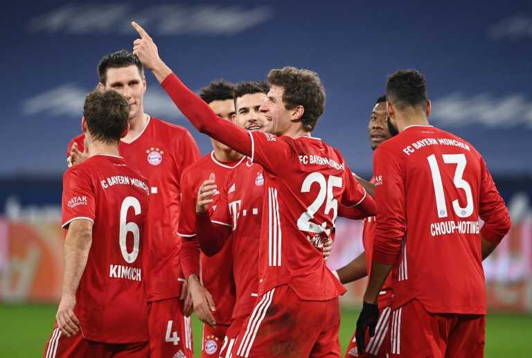 «Παρέλαση» για την Μπάγερν Μονάχου στην Bundesliga (video)
