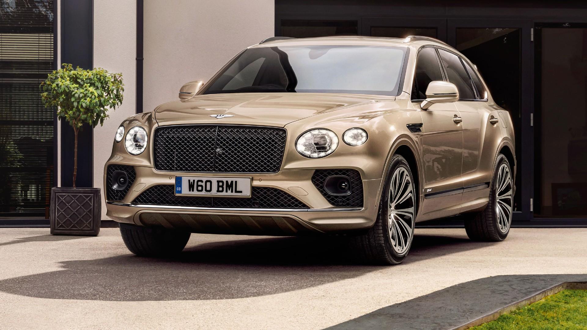 Ανανεωμένη Bentley Bentayga Hybrid