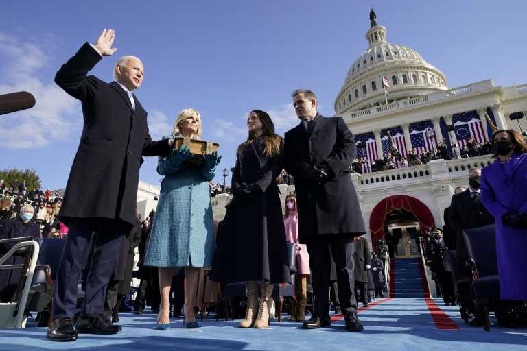 Τζο Μπάιντεν: Μια ιστορική ορκωμοσία – Πρόεδρος σε μια δύσκολη εποχή – Όλα όσα έγιναν