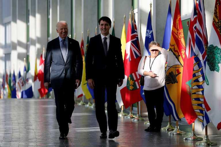 Ο Τριντό θα είναι πρώτος ξένος ηγέτης που θα συζητήσει με τον Μπάιντεν
