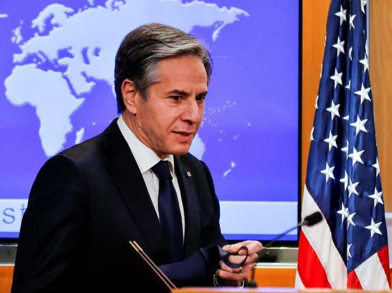 Ανήσυχος ο Μπλίνκεν για την υπόθεση Ναβάλνι – Εξετάζουν απάντηση οι ΗΠΑ