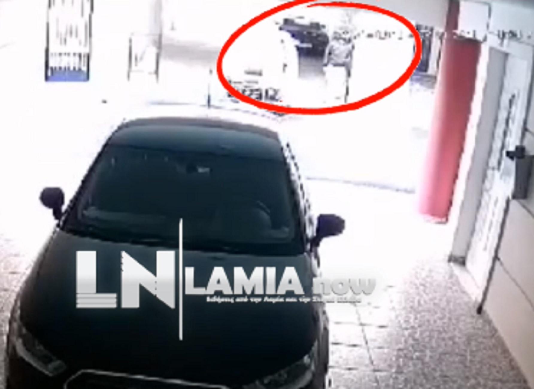 Λαμία: Βίντεο ντοκουμέντο με κλοπή την ώρα που έβαζαν πετρέλαιο σε πολυκατοικία – Η κάμερα έπιασε τα πάντα