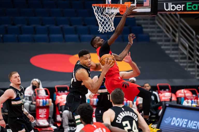 Οι Μπακς του Αντετοκούνμπο «λύγισαν» του Ράπτορς – Τα αποτελέσματα στο NBA (videos)