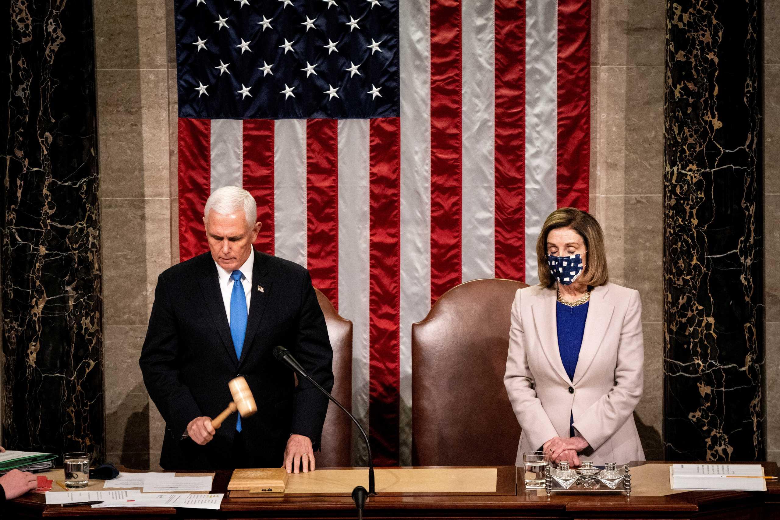 Οριστικό: Ο Τζο Μπάιντεν είναι ο 46ος Πρόεδρος των ΗΠΑ – Επικυρώθηκε η εκλογή του από το Κογκρέσο