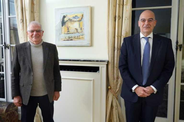 Ευρωτουρκικές σχέσεις και Ανατολική  Μεσόγειος στο επίκεντρο της συνάντησης Δένδια – Μπορέλ