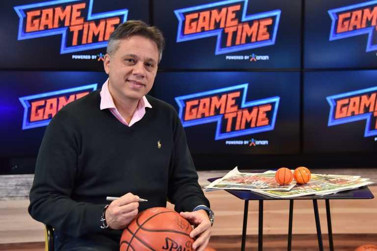 Ο Τζώρτζης Δικαιουλάκος στο ΟΠΑΠ GAME TIME ΜΠΑΣΚΕΤ