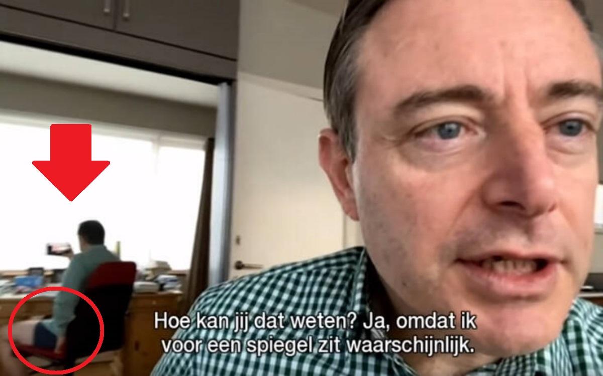 Την πάτησε άσχημα: Δήμαρχος στο Βέλγιο βγήκε σε συνέντευξη χωρίς το παντελόνι του (pic, vid)