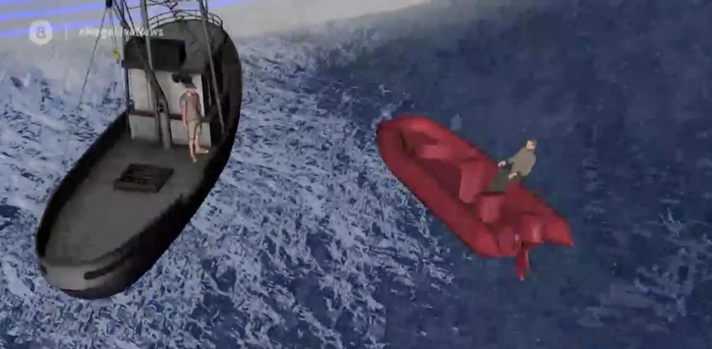 Σήφης Βαλυράκης: «Είναι αδύνατον να έχει χτυπηθεί από την δική του προπέλα» - Αυτόπτης μάρτυρας εμπλέκει αλιευτικό