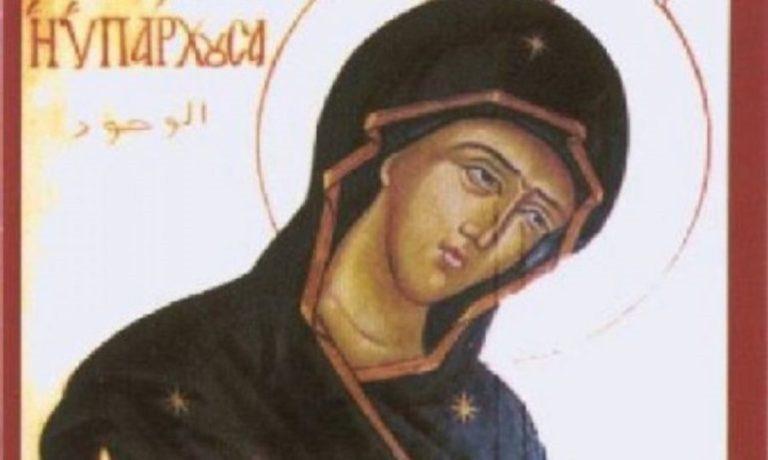 Αυτή είναι η εικόνα της Παναγίας που φιλοτεχνήθηκε με τον πιο παράδοξο τρόπο- Φωτογραφία