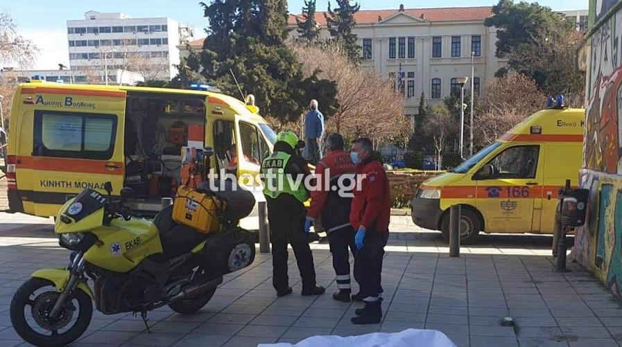 Θεσσαλονίκη: Βουτιά θανάτου από τον 5ο όροφο διαμερίσματος – Το σημείωμα που βρέθηκε πάνω του