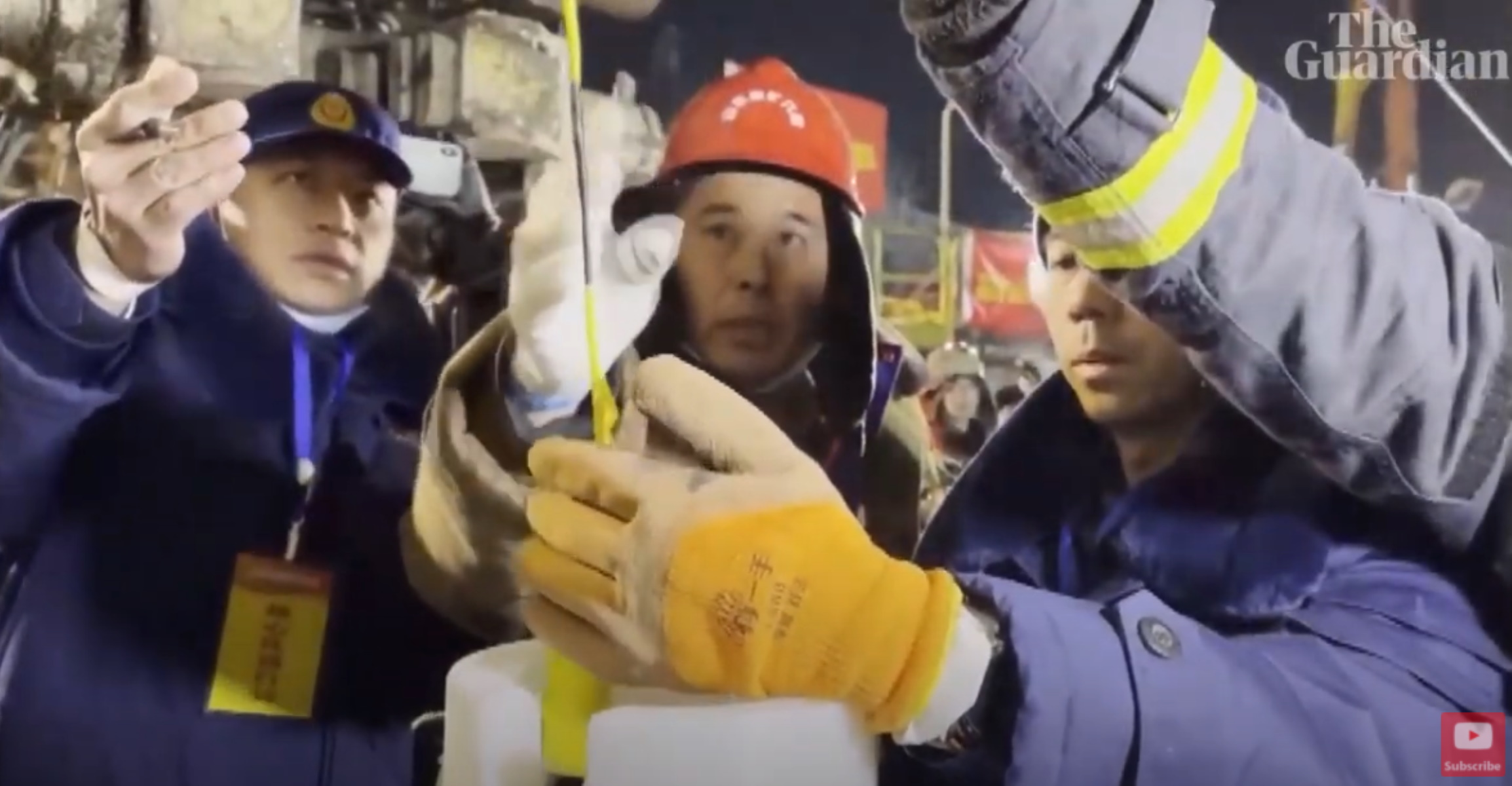 Κίνα: 9 μέρες εγκλωβισμένοι σε ορυχείο – Το μήνυμα στους διασώστες (video)