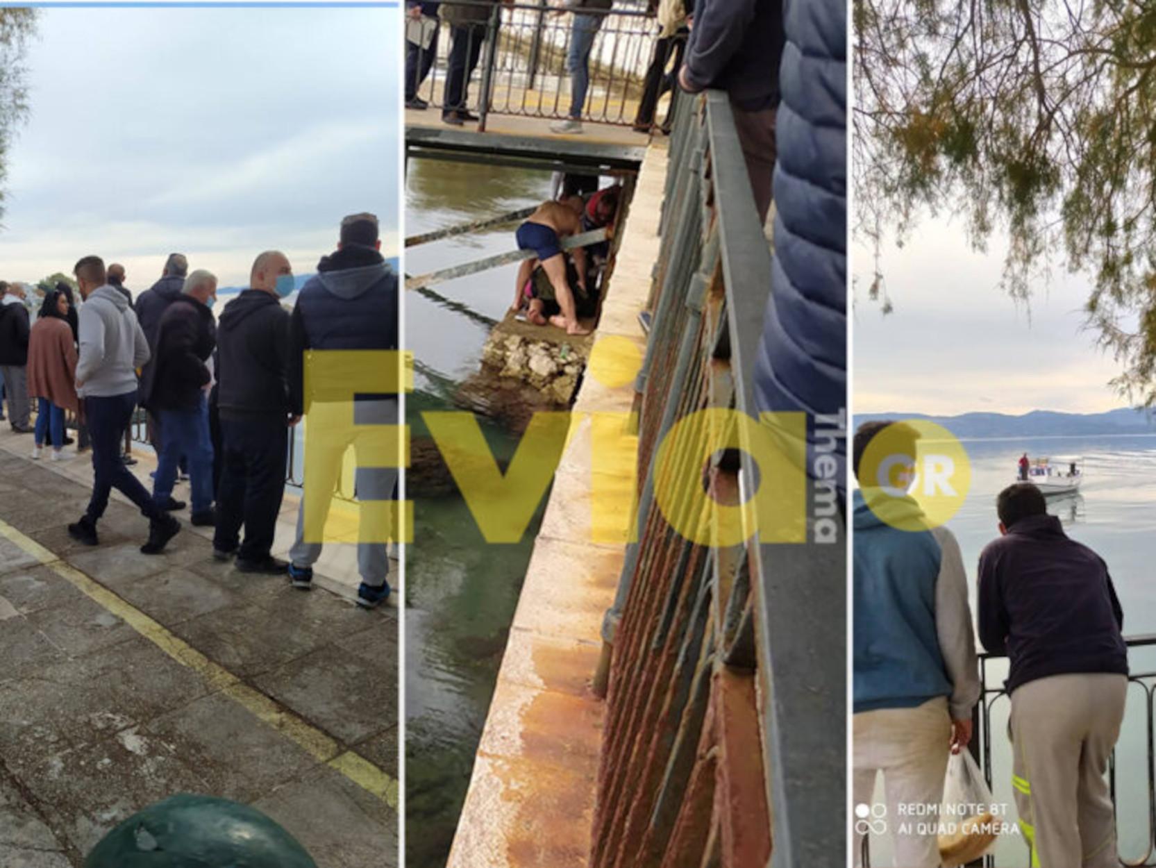 Εύβοια: Αψήφισε τα μέτρα, έπεσε για τον σταυρό και τώρα είναι στο νοσοκομείο σε άσχημη κατάσταση (pics)