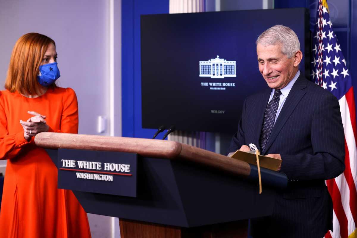 Ο Άντονι Φάουτσι νιώθει… ανακουφισμένος μακριά από τον Ντόναλντ Τραμπ