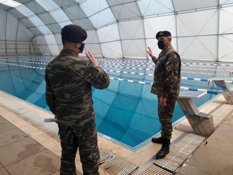 Επιθεώρηση Α/ΓΕΕΘΑ Στρατηγού Φλώρου στην έδρα Ειδικών Δυνάμεων στο Μεγάλο Πεύκο [pics]