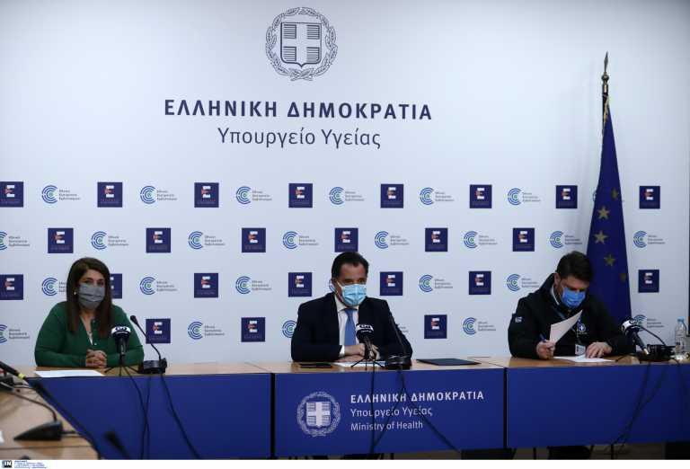 Η ενημέρωση Γεωργιάδη – Χαρδαλιά για το άνοιγμα των καταστημάτων