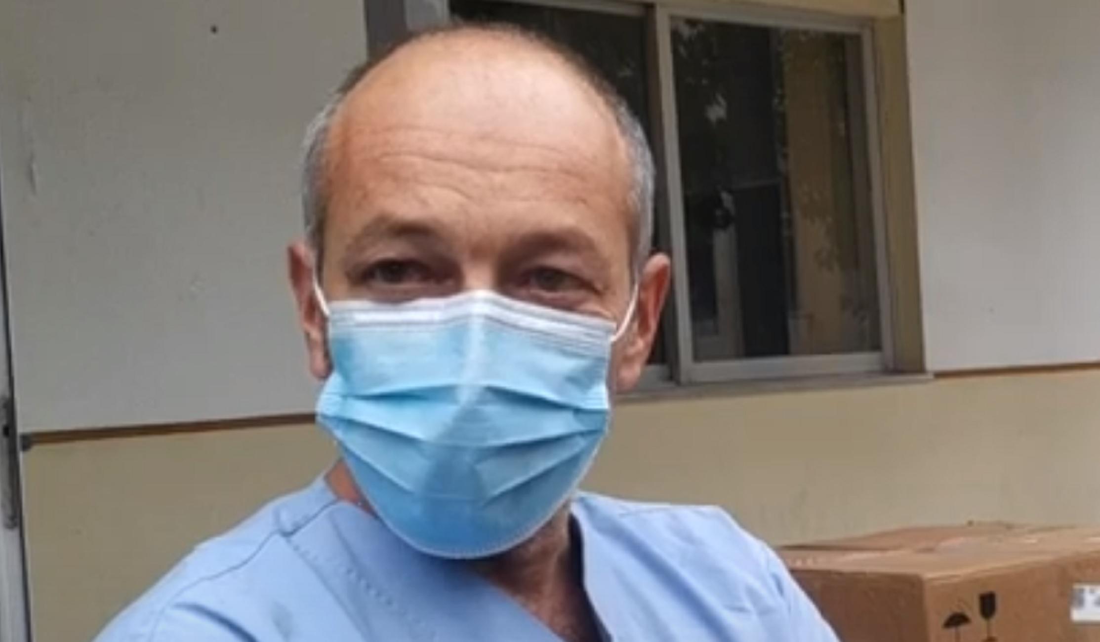 Λάρισα: Όταν ο αδικοχαμένος γιατρός Τηλέμαχος Ζαφειρίδης μιλούσε για τη μεγάλη μάχη κατά του κορονοϊού (video)
